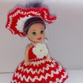 Красное платье для маленькой принцессы