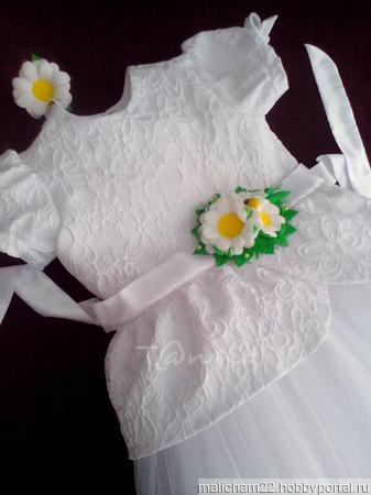 Праздничный наряд для девочки 6-8 лет ручной работы на заказ