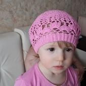 Летние шапочки для девочки
