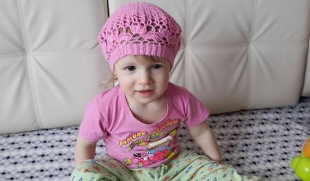 Летние шапочки для девочки ручной работы на заказ