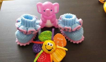 Пинеточки для малышей ручной работы на заказ