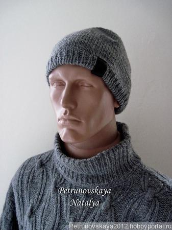 """Мужская шапка """"Тo Chains"""" ручной работы на заказ"""
