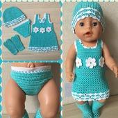 Комплект одежды для baby born