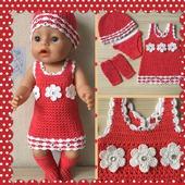 Комплект (платье для baby born)