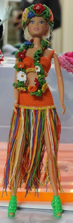 Мисс Гавайи Барби ручной работы на заказ