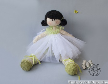 "Мастер-класс ""Кукла балерина"" ручной работы на заказ"