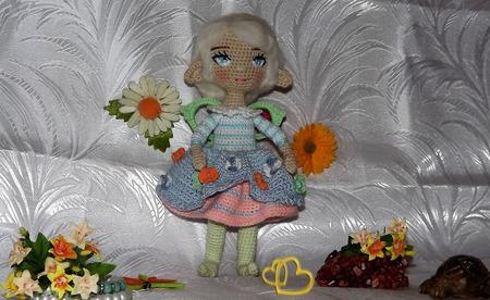 Цветочный Эльфик ручной работы на заказ
