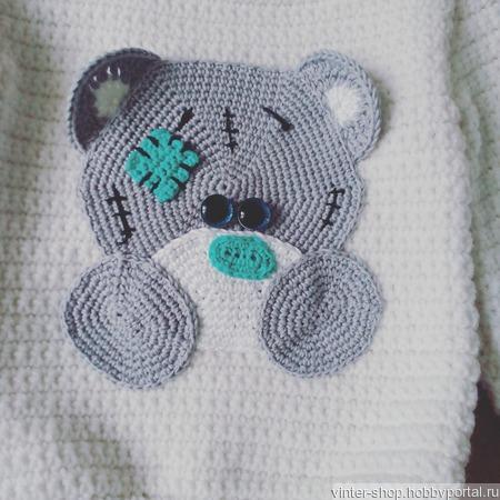 """Свитер""""Медвежонок Тедди"""" ручной работы на заказ"""