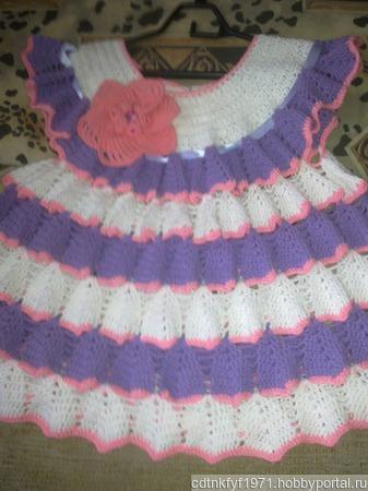 Платье колокольчик ручной работы на заказ