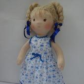 Кукла по вальдорфским мотивам
