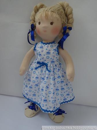 Кукла по вальдорфским мотивам ручной работы на заказ