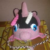 Шапочка пони