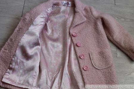 Пальто оверсайз ручной работы на заказ