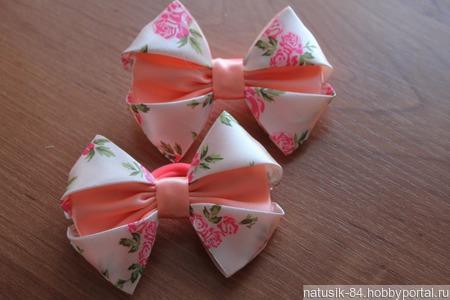 Бантики для девочек. ручной работы на заказ