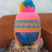 Тёплая шапочка