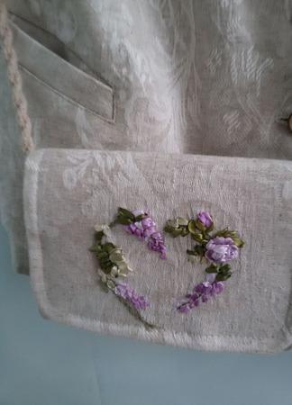 Стильный комплект: жилетка и сумочка ручной работы на заказ