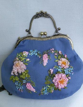 Винтажная сумка ручной работы на заказ