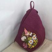 Городской рюкзак с оттенком багульника