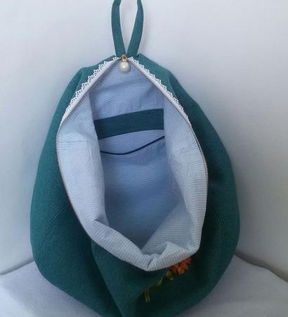Городской рюкзак Плюшевые мишки в букете ручной работы на заказ