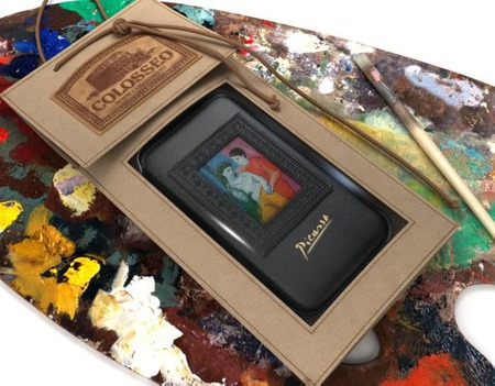 Чехол для телефона iPhone 6 (Picasso) ручной работы на заказ