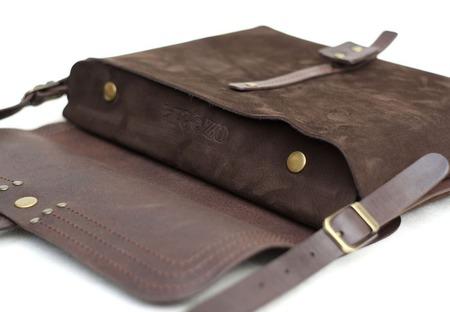 Женская сумка Валенсия (Brown) ручной работы на заказ