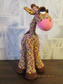Жираф флик ручной работы на заказ