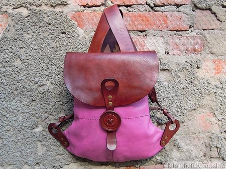 Рюкзак Нежность (LUNA) ручной работы на заказ