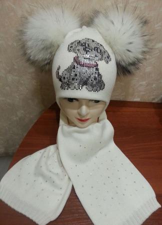 Комплект зимний ручной работы на заказ