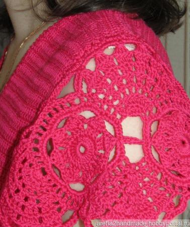 Платье Летний ажур ручной работы на заказ