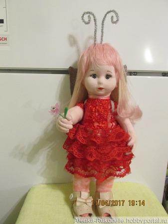 Авторская куколка Майя ручной работы на заказ