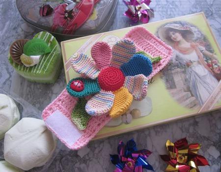 """Браслет для малышей """"Цветик семицветик"""" ручной работы на заказ"""