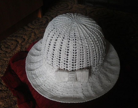 "Шляпка ""Яблоневый цвет"" ручной работы на заказ"