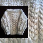 Пуловер в стиле Рубан