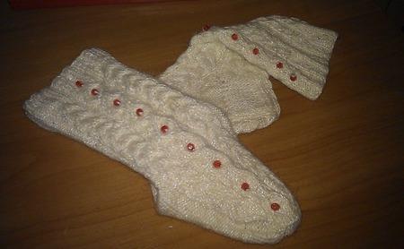 Носочки для тепла любимых ножек ручной работы на заказ