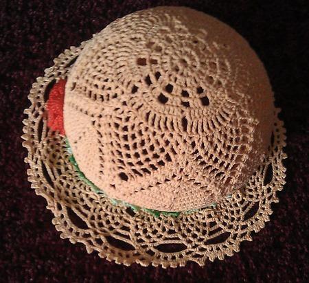 Шляпка / панама ручной работы на заказ