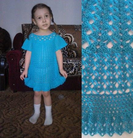"""Платье """"Морской бриз"""" ручной работы на заказ"""
