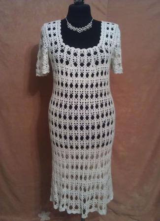 Коктейльное платье ручной работы на заказ