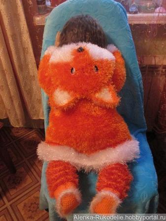 Детский костюм лисичка ручной работы на заказ