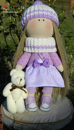 Интерьерная кукла ручной работы на заказ