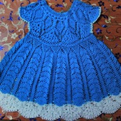 Детское  платье Колокольчик
