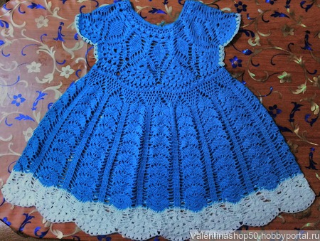 Детское  платье Колокольчик ручной работы на заказ