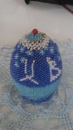 Яйцо пасхальное ручной работы на заказ