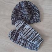 Комплект (шапочка+варежки)