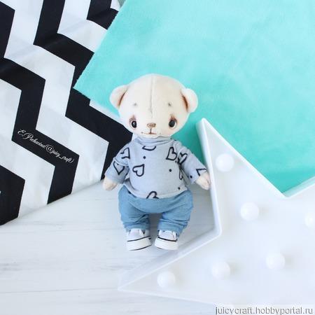 Мишка в штанишках ручной работы на заказ