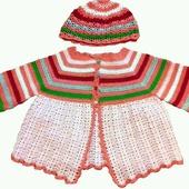 Комплект для девочки (шапочка+туника)
