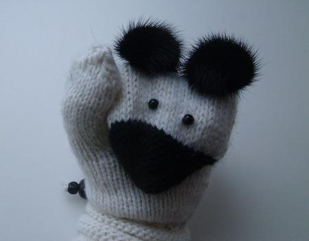 Варежки-Мышки ручной работы на заказ