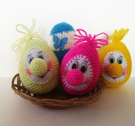 Пасхальные яйца ручной работы на заказ