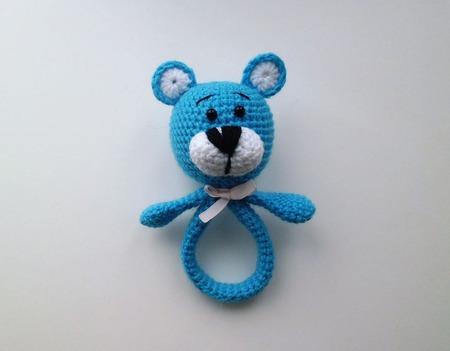 Погремушка - для малышей игрушка ручной работы на заказ