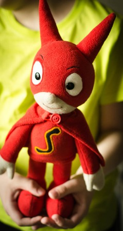 СамСам сказочный супергерой ручной работы на заказ