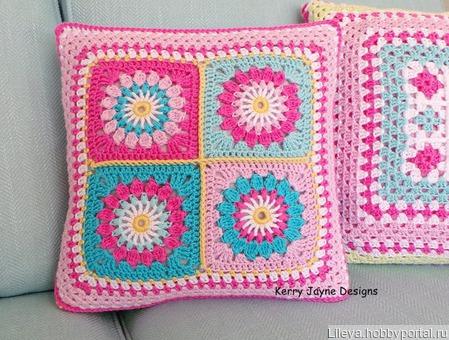 Интерьерные подушки (наволочки) ручной работы на заказ